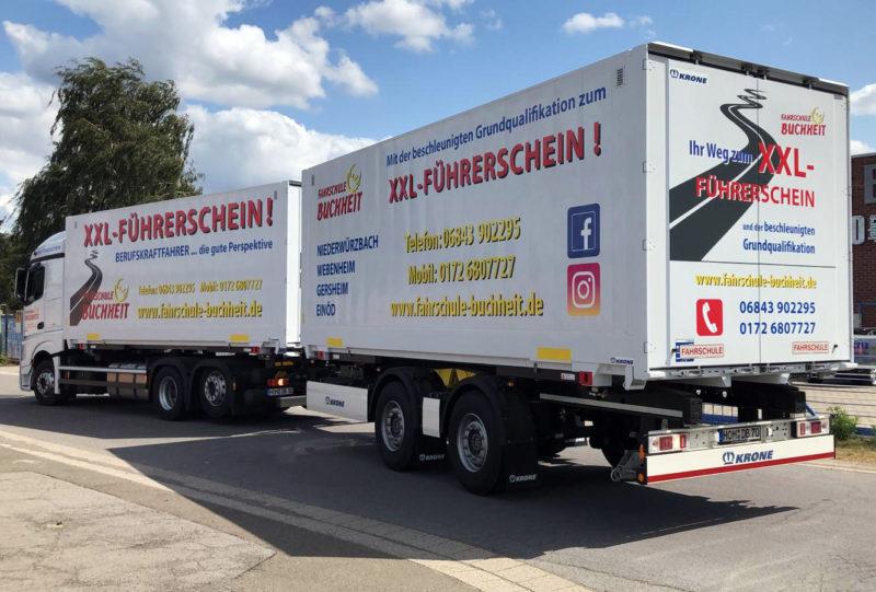Berufskraftfahrer LKW Führerschein